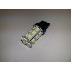T20 T086B /белый/ (W3x16d)  24 SMD 5050, 2 contact, блистер 1 шт