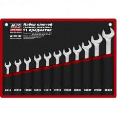 Набор ключей гаечных рожковых в сумке (8-32 мм) (11 предметов) AVS K1N11M