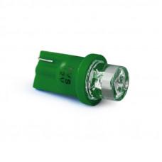 T10 T011 /зеленый/ (W2.1x9.5d) 1LED усечённая W5W,10 шт.
