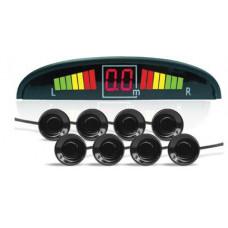 Парктроник AVS PS-128U (8 датчиков, светодиодный дисплей)