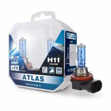 Лампа галогенная AVS ATLAS PB /5000К/ H11.12V.55W Plastic box -2 шт.