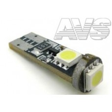 T10 C003A /белый/ (W2.1x9.5D) CANBUS 3SMD 5050, блистер 2 шт