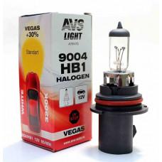 Лампа галогенная AVS Vegas HB1/9004.12V.65/45W (1 шт.)