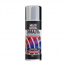 Эмаль металлик универсальная (хром) (аэрозоль) 520 мл AVS AVK-514
