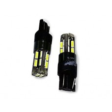 T10 T104 /белый/ (W2.1x9.5D) CANBUS 18SMD 4014 12-24V.блистер, 2 шт.