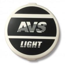 Противотуманные фары галогенные (H3) AVS PF-317H (12V 55W. d-156 мм. пластик с крышкой) 2 шт.