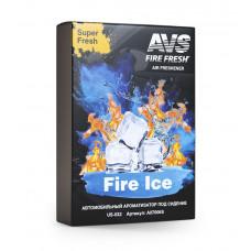 Ароматизатор Super Fresh (Огненный лёд/Fire Ice) (гелевый) AVS US-009