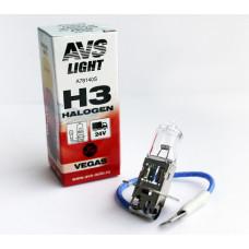 Лампа галогенная AVS Vegas H3.24V.70W (1 шт.)