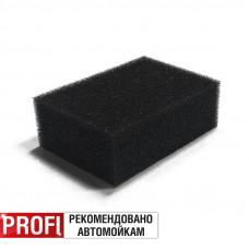 Губка поролоновая (чёрная) 70x50x25мм AVS SP-16