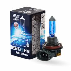 Лампа галогенная AVS ATLAS BOX /5000К/ H8.12V.35W (1 шт.)