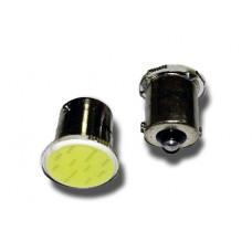 T15 S103A  /белый/ (BA15S) COB 12chip 1 contact(1156) блистер, 2 шт
