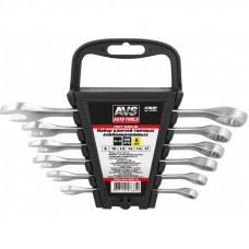 Набор ключей гаечных комбинированных на держателе (8-17 мм) (6 предметов) AVS K3N6P