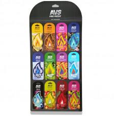 Дисплей для ароматизаторов + крючки для дисплея (комплект- 12 шт) Fire Fresh AVS AFP
