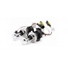 Лампы би-ксенон H4 (5000K) (2 шт.) AVS + комплект проводов KET