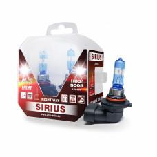 Лампа галогенная AVS SIRIUS NIGHT WAY HB3/9005.12V.65W Plastic box -2 шт.