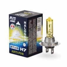 Лампа галогенная AVS ATLAS ANTI-FOG / BOX желтый H7.12V.55W (1 шт.)