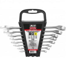 Набор ключей гаечных комбинированных на держателе (6-19 мм) (8 предметов) AVS K3N8P