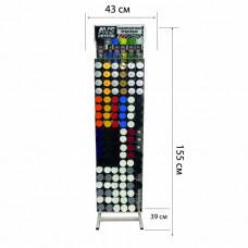 Витрина для аэрозолей лакокрасочных материалов AVS Crystal ASC-02