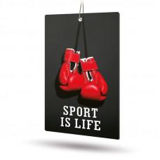Ароматизатор AVS APS-019 Sport is Life (аром. Brutal/Брутал) (бумажные)