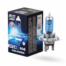 Лампа галогенная AVS ATLAS BOX /5000К/ H4.24V.75/70W (1 шт.)