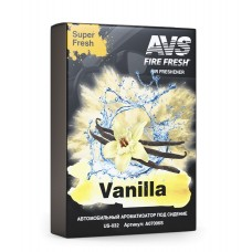 Ароматизатор Super Fresh (Ваниль/Vanilla) (гелевый) AVS US-001