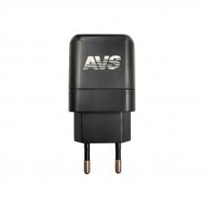 USB сетевое зарядное устройство AVS 2 порта UT-724 (2,4А)