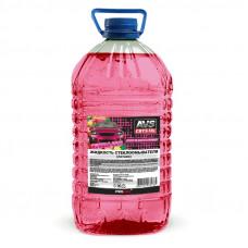 Жидкость стеклоомывателя (лето) (BubbleGum/Бабл гам) (ПЭТ) 5 л AVS AVK-662