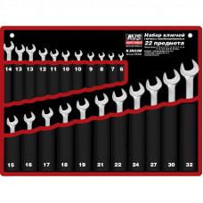 Набор ключей гаечных комбинированных в сумке (6-32 мм) (22 предмета) AVS K3N22M