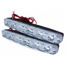 Дневные ходовые огни (DRL) AVS DL-6A (2,4W, 6 светодиодов х 2 шт.)