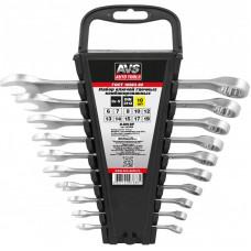 Набор ключей гаечных комбинированных на держателе (6-19 мм) (10 предметов) AVS K3N10P
