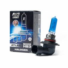 Лампа галогенная AVS ATLAS BOX /5000К/ HB3/9005.12V.65W (1 шт.)