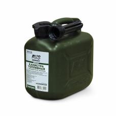 Канистра для топлива (пластик) 5л (тёмно-зелёная) AVS TPK-Z 05