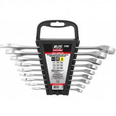 Набор ключей гаечных комбинированных на держателе (8-22 мм) (9 предметов) AVS K3N9P