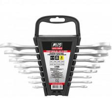 Набор ключей гаечных рожковых на держателе (6-22 мм) (8 предметов) AVS K1N8P