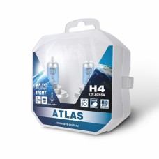 Лампа галогенная AVS ATLAS PB /5000К/ H4.12V.60/55W Plastic box -2 шт.