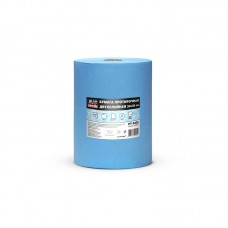 Бумага протирочная двухслойная AVS PT-3335 (33х35см) (голубая)