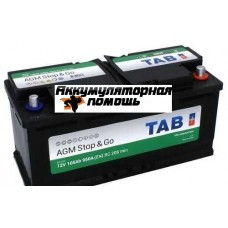 TAB AGM Stop&Go 6СТ-105.0