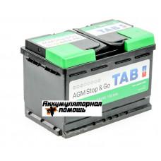 TAB Eco Dry (VRLA AGM) 6СТ-80 R+
