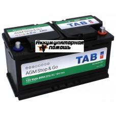TAB Eco Dry (VRLA AGM) 6СТ-95 R+