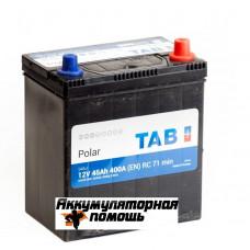 ТAB Polar S 6СТ-45 тонк.кл.,нижн.борт
