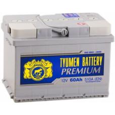 Купить аккумулятор Тюмень PREMIUM 60 низ. с доставкой в Ростове-на-Дону