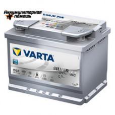 Varta Start-Stop Plus 6СТ-60 (D52) (560 901 068) AGM