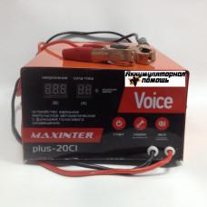 Зарядное устройство Мaxinter ПЛЮС-20 Ci Voice (6V12V24V20A)
