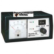 Вымпел- 32 (автомат-руч, 0,8-18А, 3-х режимн, 12В, стрелоч. амперметр)